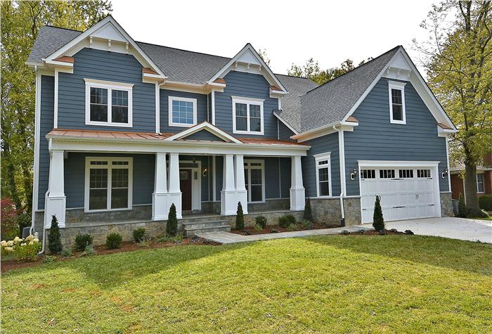 The chesterbrook craftsman ndi for Build new home prices