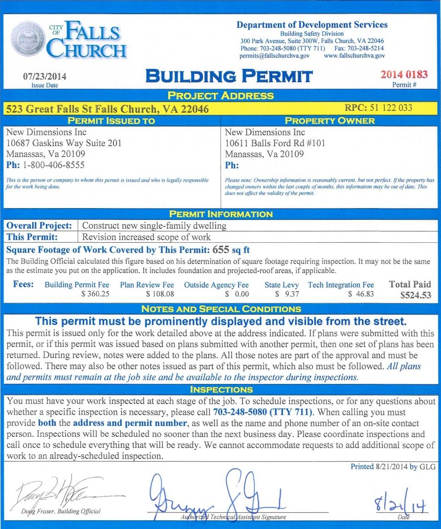home building faqs who applies for the building permits ndi