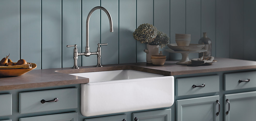 What\'s Trending: Apron Kitchen Sinks | NDI