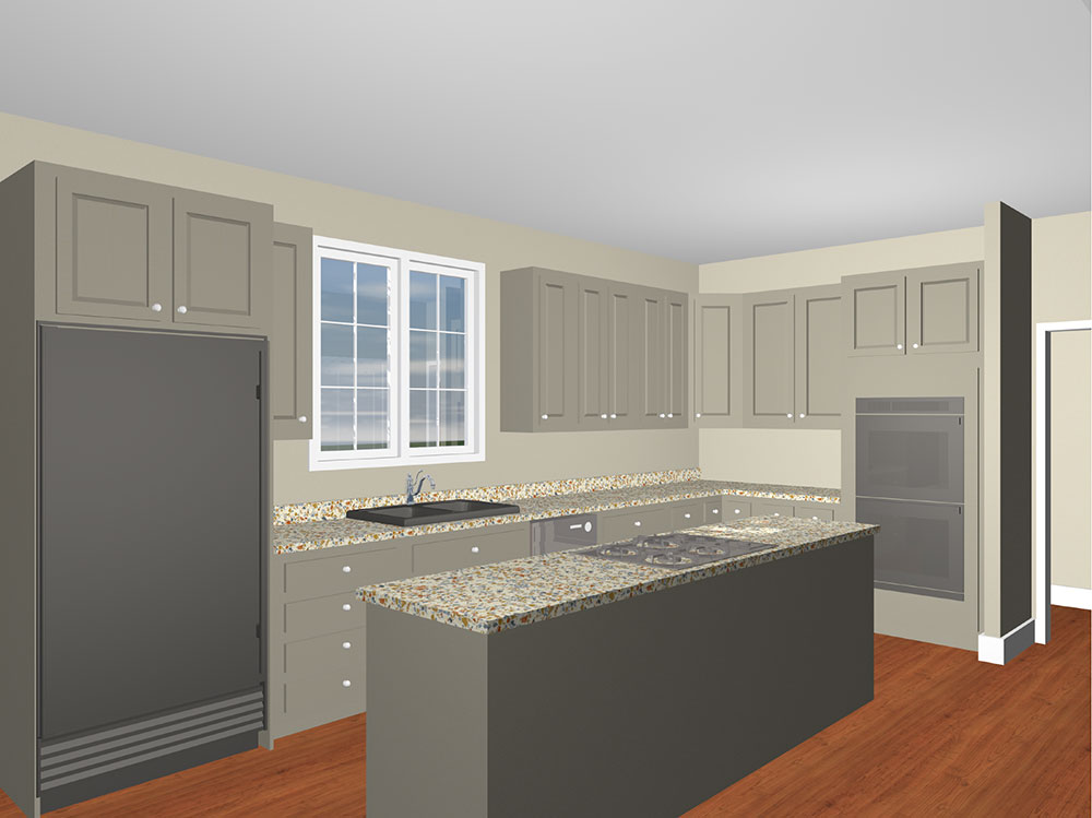 Kitchen-Rendering