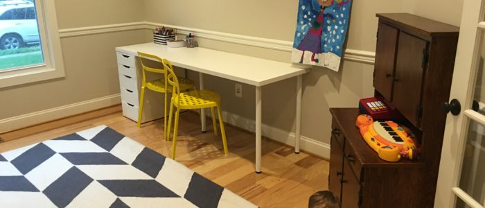 How I Would Use That Space: The Penrose Living Room Turned Play Room