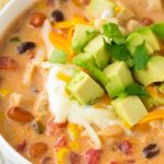Jen In The Kitchen: Creamy Chicken Tortilla Soup (AKA taco in a bowl)